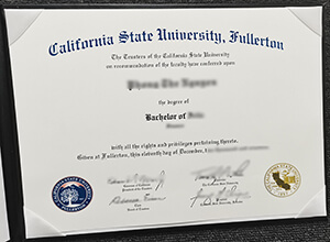 CSUF diploma
