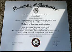 Where can I buy fake University of Mississippi diploma?