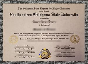 How to Copy A Southeastern Oklahoma State University Fake Diploma? Buy SOSU degree