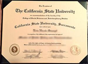 Where can I buy fake California State University Sacramento diploma? Buy fake CSUS degree