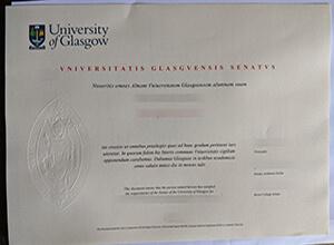 University of Glasgow degree