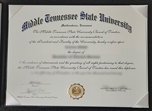 MTSU fake diploma maker, How to buy fake Middle Tennessee State University degree?
