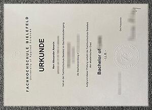 Fachhochschule Bielefeld diploma