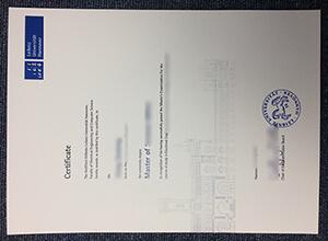 Leibniz University Hannover diploma