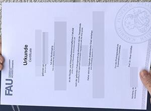 FAU certificate