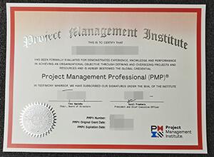 Latest Fake PMP Certificate 2021 Version, Buy fake certificate