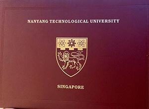 NTU diploma case, Buy fake NTU degree certificate