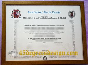 Where can I buy fake Universidad Complutense de Madrid diploma?