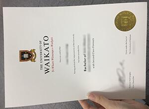 University of Waikato diploma