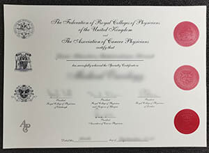 MRCP UK certificate