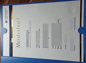 Handwerkskammer Region Stuttgart Meisterbrief