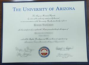 How to order a fake University of Arizona diploma from USA?