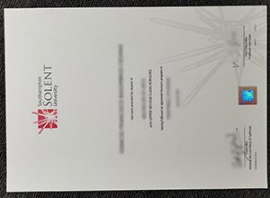 Where to get a fake Southampton Solent University degree?