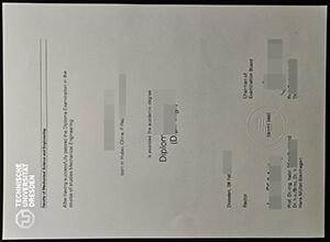 Dresden University of Technology diploma