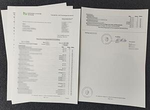 How to order a fake Technische Universität Dortmund transcript?