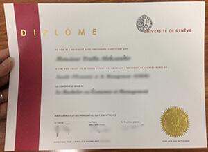 Université de Genève degree