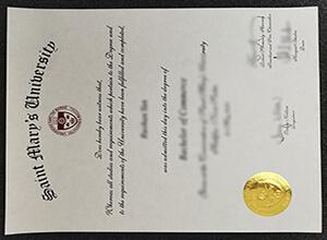 Saint Mary's University degree