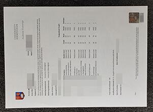 How to Create fake University of Birmingham transcript?