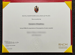 Royal Northern College Of Music Degree