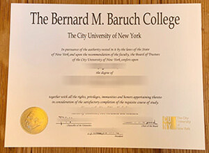 How  to buy fake Baruch College diploma from New York City?