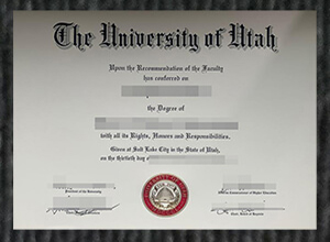 Where to get a fake University of Utah degree certificate?