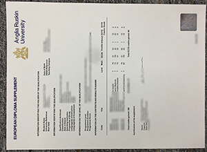 How to order a fake Anglia Ruskin University transcript?