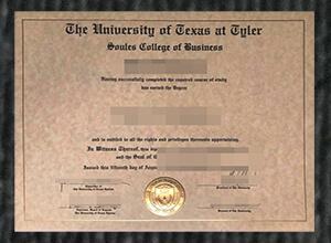 Can I buy fake University of Texas at Tyler diploma?