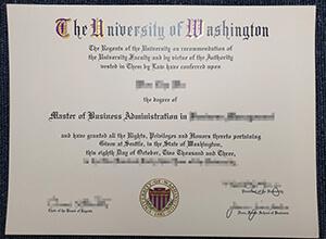 Buy a UW MBA diploma, Order a fake University of Washington certificate