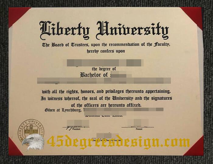 Liberty University degree