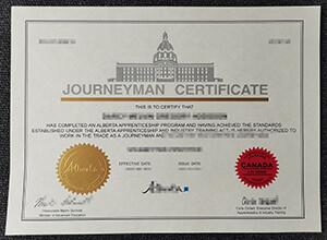 Where to buy fake Journeyman Certificate? Buy Alberta certificate online.