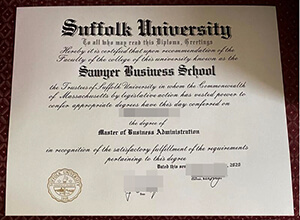 Purchase Suffolk University diploma, How to get a diploma online?