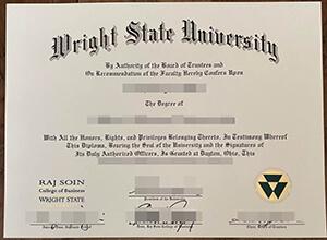 Wright State University Diploma