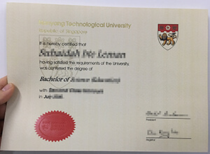How to achieve a fake Nanyang Technological University diploma?