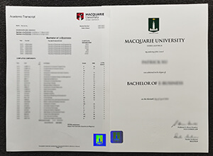 Where to order a fake Macquarie University transcript and envelope?