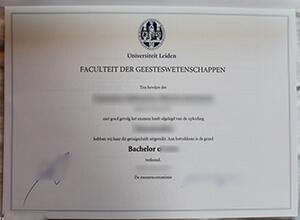 How do people make a fake Universiteit Leiden diploma?