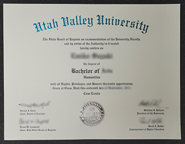 How to get a fake Utah Valley University diploma in USA?