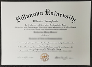 The fastest way to get a fake Villanova University diploma in USA