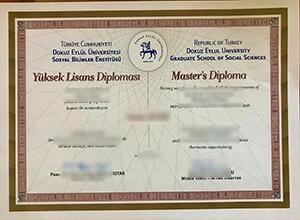 How to buy a fake Dokuz Eylül University diploma?