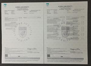 Purchase a fake Korea University transcript, fake diploma maker