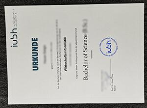 Purchase a IUBH URKUNDE, order a fake IUBH diploma
