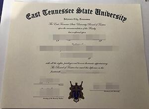 Obtain a 100% copy of ETSU diploma, Buy fake ETSU degree