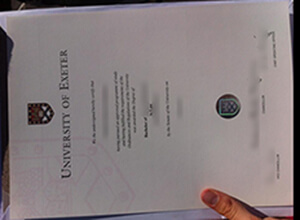 Can I get a fake University of Exeter diploma online?