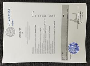 How to order a fake Universität Wien transcript? Buy fake University of Vienna Zeugnis