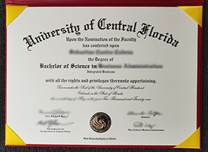 UCF Bachelor of Science degree