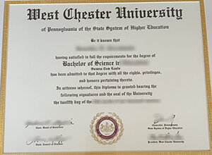 How to buy fake West Chester University diploma?