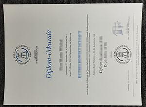 Hamburger Fern-Hochschule diploma