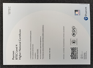 BTEC Level 4 Higher National Certificate