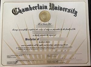 Chamberlain University diploma, Chamberlain University degree, Buy diploma online