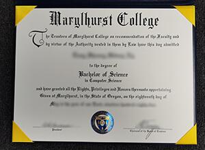 Marylhurst University diploma