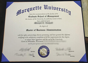 How To Get A Fake Marquette University diploma in Wisconsin?